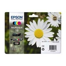 Epson - Epson T18064020 XP202-205 (18) 4'lü Set Kartuş