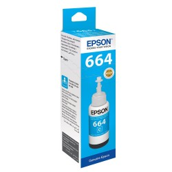 Epson - EPSON T6642 L100/ L200/ L300 (C13T66424A) MAVİ MÜREKKEP 70ML