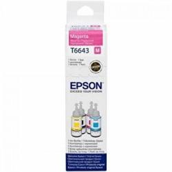 Epson - Epson T6643 Kırmızı Muadil Mürekkep