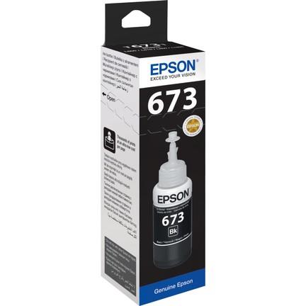 Epson T6731 C13T67314A Siyah Orijinal Mürekkep