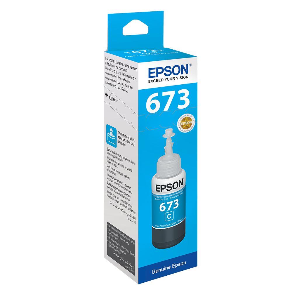 Epson T6732 C13T67324A Mavi Orijinal Mürekkep