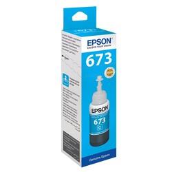 Epson - Epson T6732 C13T67324A Mavi Orijinal Mürekkep