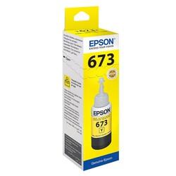 Epson - Epson T6734 C13T67344A Sarı Orijinal Mürekkep