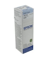 EPSON - EPSON T6735 LIGHT CYAN IN CONTAINER 70ml