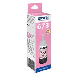 Epson - Epson T6736 C13T67364A Açık Kırmızı Orijinal Mürekkep