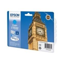 EPSON - Epson T703240 Mürekkep Kartuş (L) Cyan