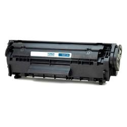 HP - HP 12A LR Siyah Muadil Toner