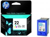 HP - HP 22XL C9352A CMY Muadil Mürekkep Kartuş