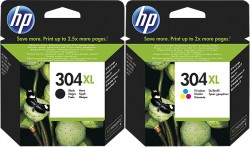 HP - HP 304XL Orjinal Kartuş Seti DeskJet 2633 - 2632