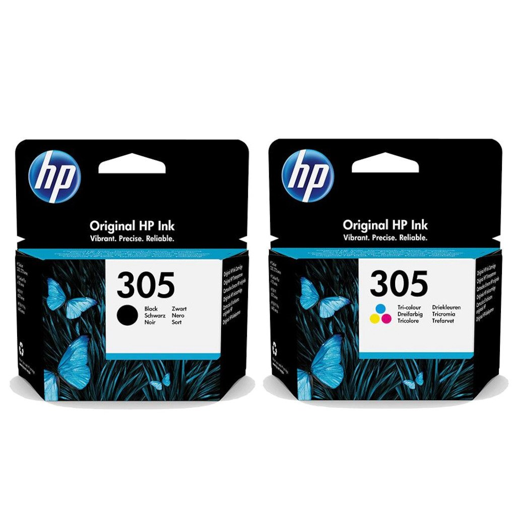 HP - HP 305 DeskJet 2710 Orjinal Kartuş Seti