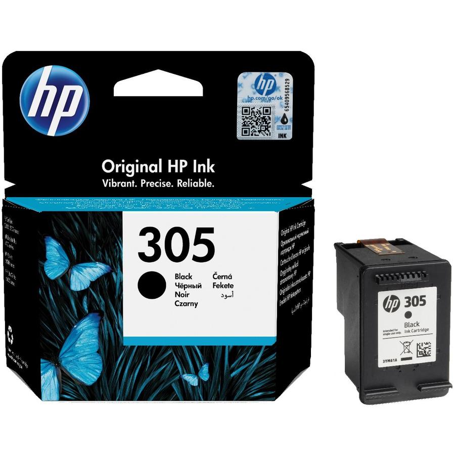 HP 305 DeskJet 2710 Orjinal Siyah Kartuş 3YM61AE