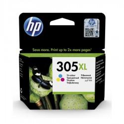 HP - HP 305XL DeskJet 2710 Yüksek Kapasite Orjinal Renkli Kartuş