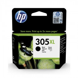 HP - HP 305XL DeskJet 2710 Yüksek Kapasite Orjinal Siyah Kartuş