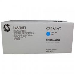 HP - Hp 508X CF361XC Yüksek Kapasiteli Mavi Orjinal Toner