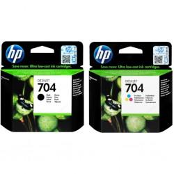 HP - HP 704 Deskjet 2060 Orijinal Kartuş Seti
