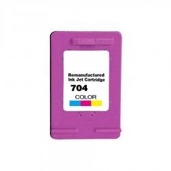 HP - HP 704 Renkli Muadil Kartuş Deskjet 2060 CN693A