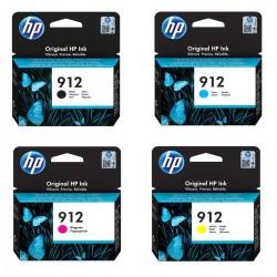 HP - HP 912 Orjinal Kartuş Seti Tüm Renkler