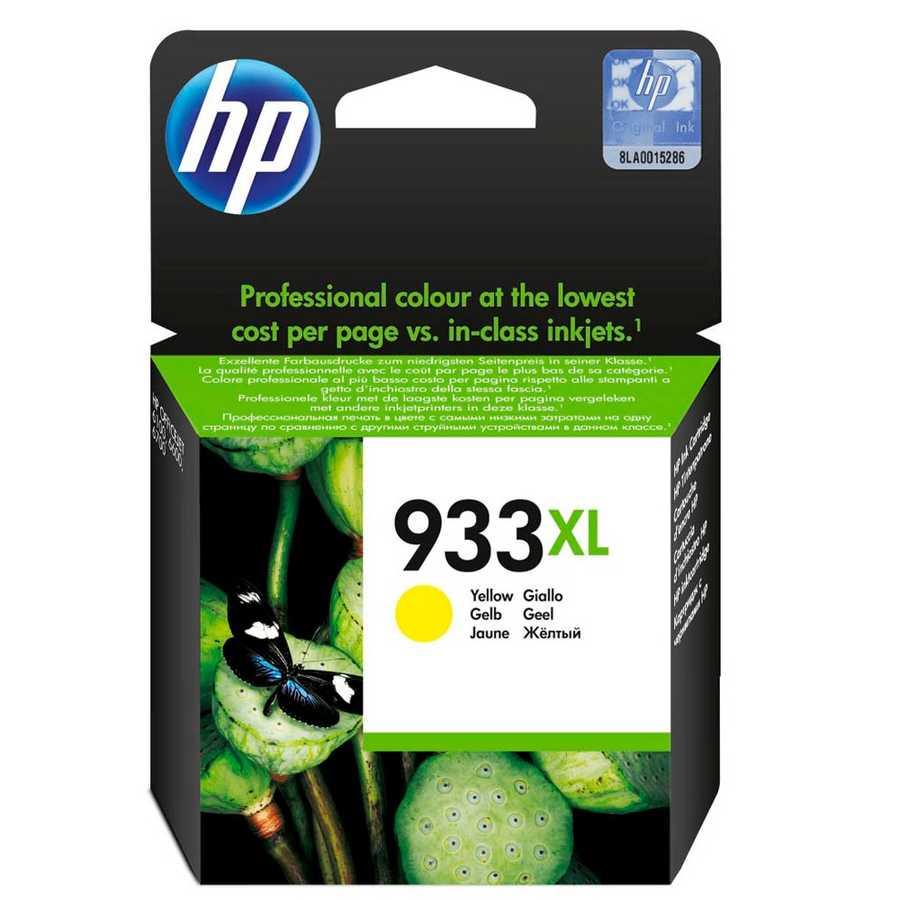 HP - HP 933XL-CN056AE Sarı Orjinal Kartuş