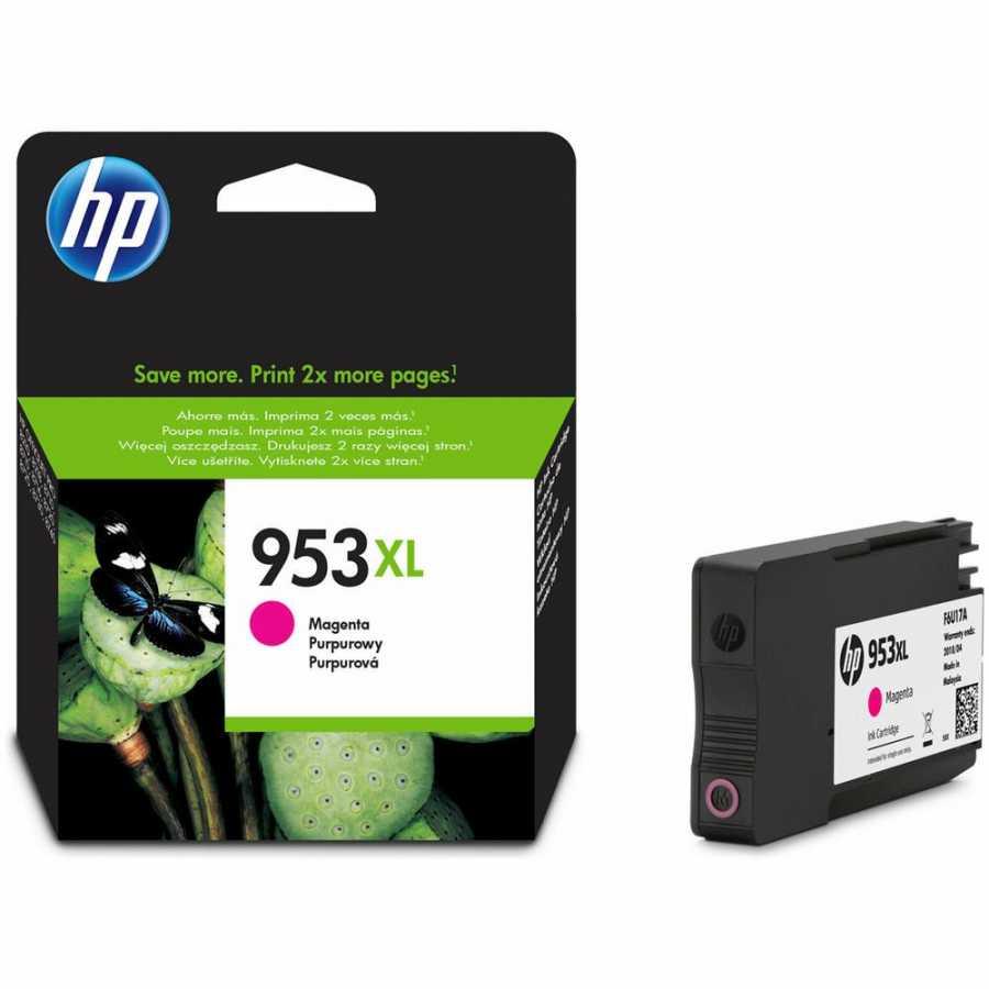 HP 953XL Yüksek Kapasiteli Kırmızı Orjinal Mürekkep Kartuşu