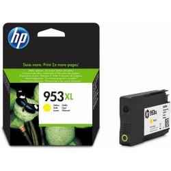 HP - HP 953XL Yüksek Kapasiteli Sarı Orjinal Mürekkep Kartuşu
