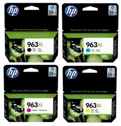 HP - HP 963XL Orjinal Kartuş Seti Tüm Renkler