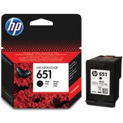 HP - HP C2P10A Siyah Mürekkep Kartuş (651)