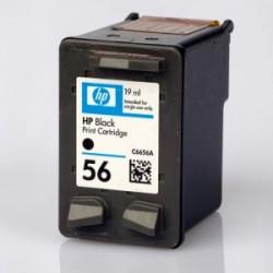 HP - Hp C6656A (56) Siyah Muadil Mürekkep Kartuş