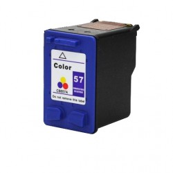 HP - Hp C6657A (57) Renkli Muadil Mürekkep Kartuş