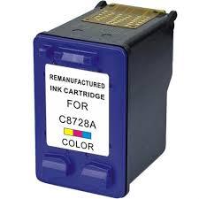HP - Hp C8728A (28) Renkli Muadil Kartuş