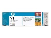 HP - HP C9482A Light GrayMürekkep Kartuş (91)