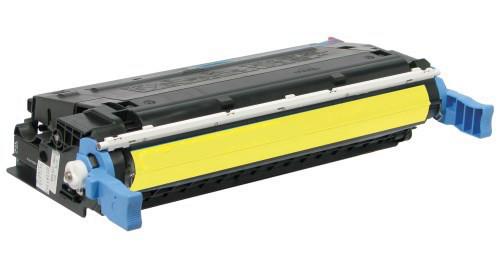 HP C9722A (641A) MUADİL SARI TONER