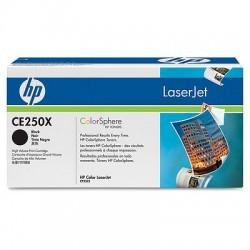 HP - HP CE250X (504X) ORJİNAL SİYAH TONER YÜK. KAP.