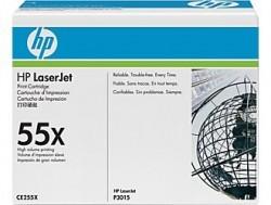 HP - HP CE255X (55X) ORJİNAL SİYAH TONER YÜK. KAP.