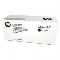 HP - HP CE340AC Siyah Toner Kartuş (651A)