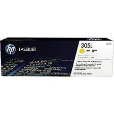 HP - HP CE412L (305L) SARI ORİJİNAL TONER
