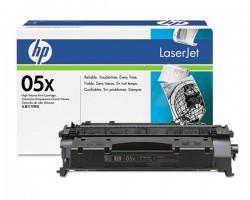 HP - HP CE505X (05X) ORJİNAL SİYAH TONER YÜK. KAP.
