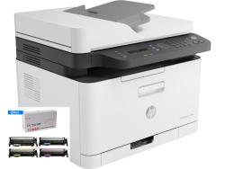 HP - Hp Color Laser MFP 179fnw Renkli Lazer Yazıcı Tam Dolu Muadil Tonerli