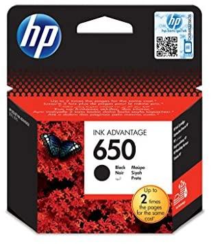 HP 650 CZ101A Siyah Mürekkep Kartuş