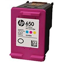HP - HP CZ102A (650) Renkli Muadil Mürekkep Kartuş