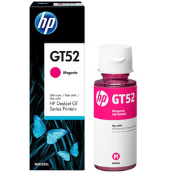 HP - HP GT52 Kırmızı Şişe Mürekkep