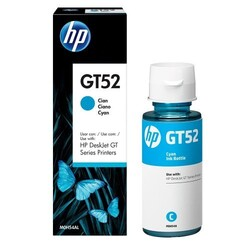 HP - HP GT52 Mavi Şişe Mürekkep