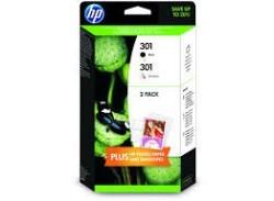HP - HP J3M81A Black/CMY Mürekkep Kartuş (301)