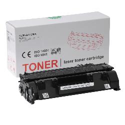 HP - HP P2055DN Muadil Toner CE505X