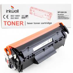 HP - HP Q2612A (12A) Muadil Toner