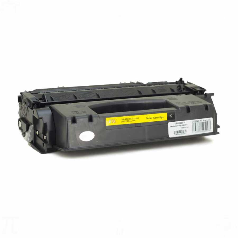 HP Q7553A (53A) Siyah Muadil Toner M2727 MFP
