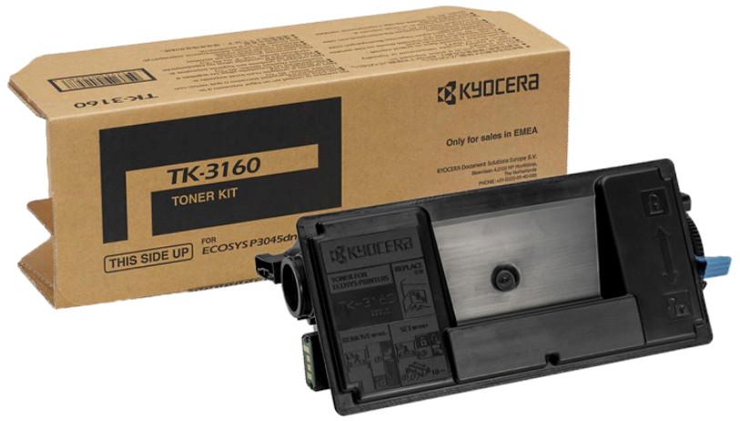 Kyocera Mita TK-3160 Orijinal Toner Ecosys P3045dn-P3055dn-P3060dn-P3065dn (1T02T90NL1)