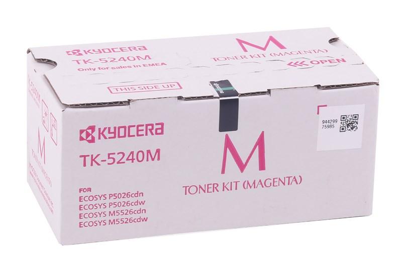 Kyocera Mita TK-5240 Orjinal Kırmızı Toner M5026-M5526 MC-3326