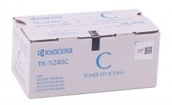 Kyocera - Kyocera Mita TK-5240 Orjinal Mavi Toner M5026-M5526 MC-3326