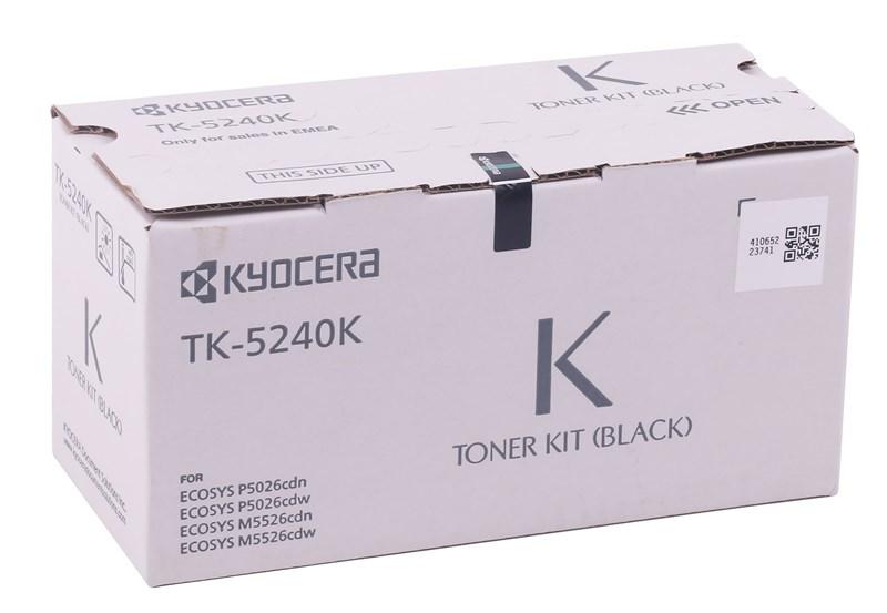 Kyocera Mita TK-5240 Orjinal Siyah Toner M5026-M5526 MC-3326