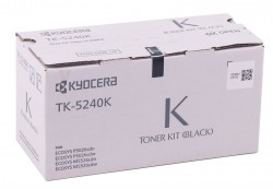 Kyocera - Kyocera Mita TK-5240 Orjinal Siyah Toner M5026-M5526 MC-3326